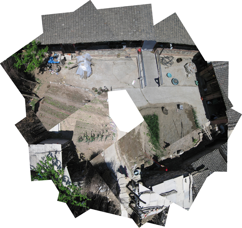 Aerial photography_courtyard