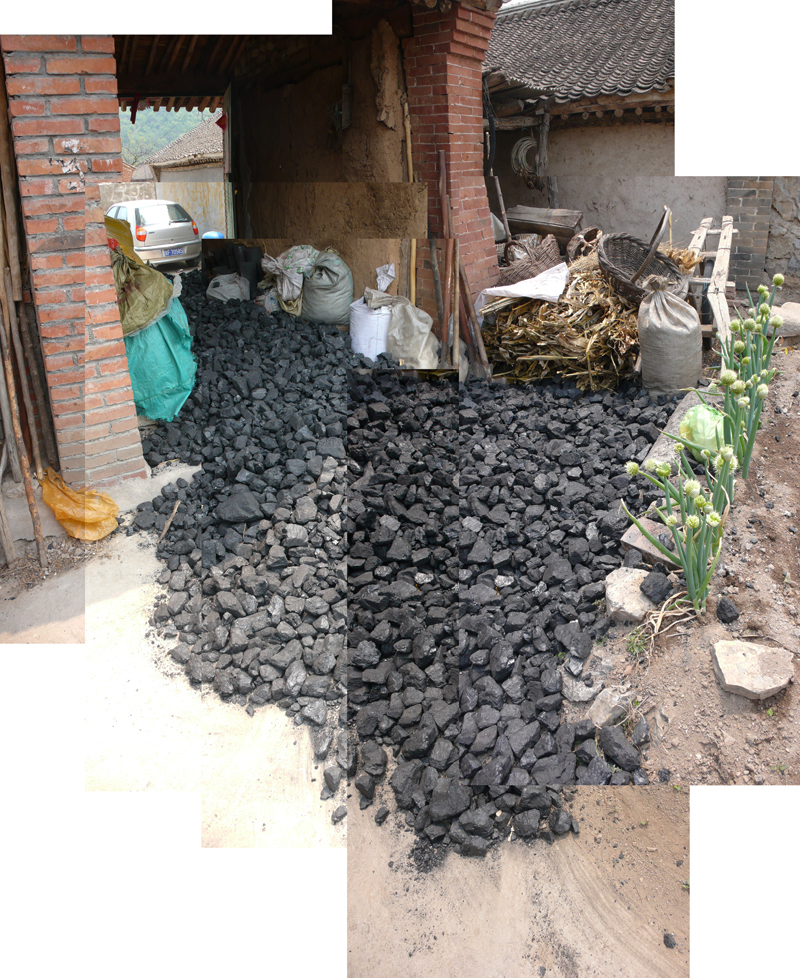 Liu-Li house coal delivery