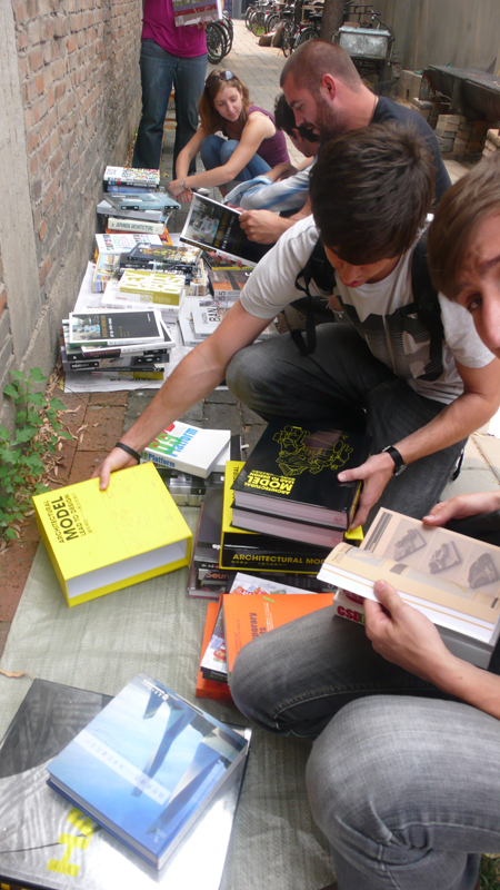 book vendor at BASE