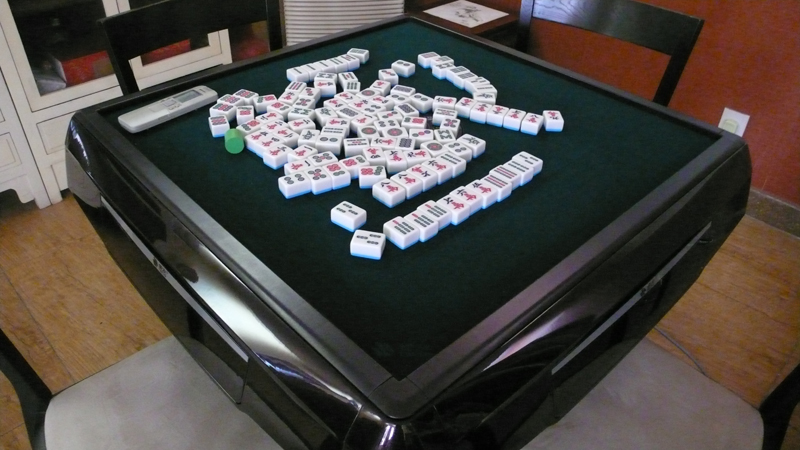 Mahjong table