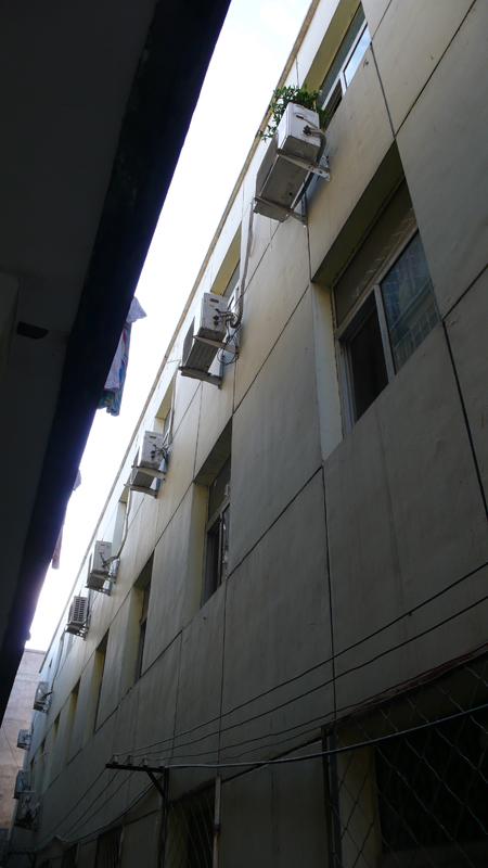 apartment building density