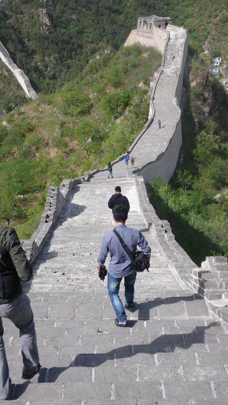 On the great wall 1