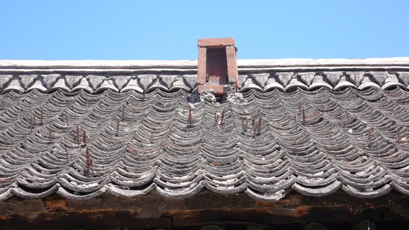 Li-Liu house, Feng shui on roof